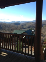Our cabin view