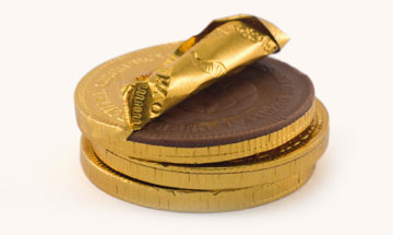 Is it so wrong that I'd prefer my medals be made of chocolate?